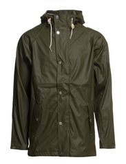 SIXTEN RAINJACKET - Forest green