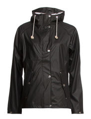 TORA RAINJACKET - Jet black