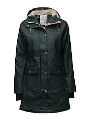 ERNA RAINCOAT - 01/DARK FOREST