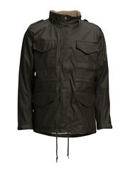 JOHN RAIN JACKET - Forest green
