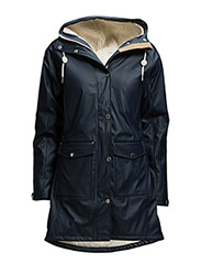 ERNA WINTER RAINCOAT - Navy