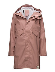 PU PARKA - 006/DUSTY PINK