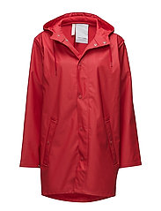 WINGS MONOCROME RAINJACKET - 050/RED