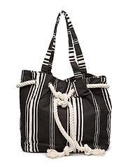 Ocean Ripple Bag - BLACK COMBINATION