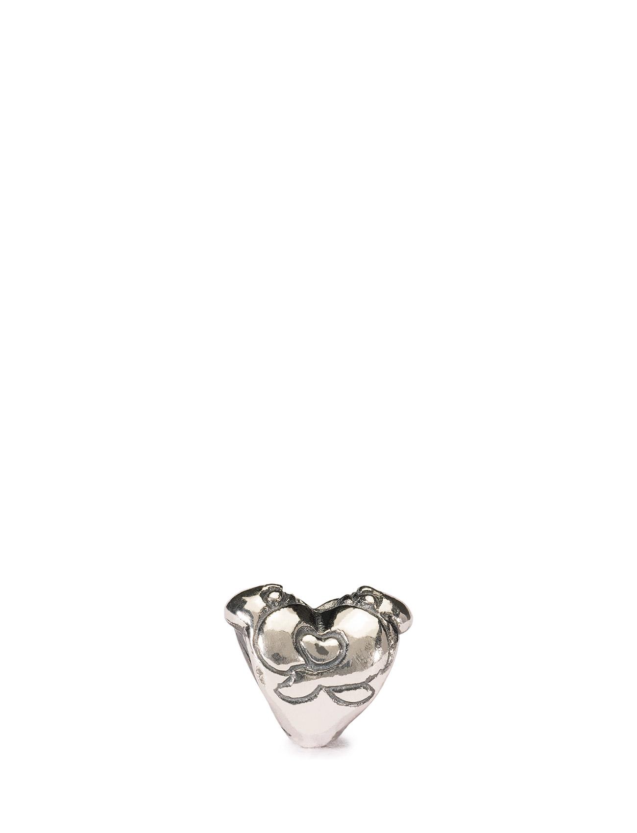 Hugging Heart Trollbeads Smykker til Damer i Sølv
