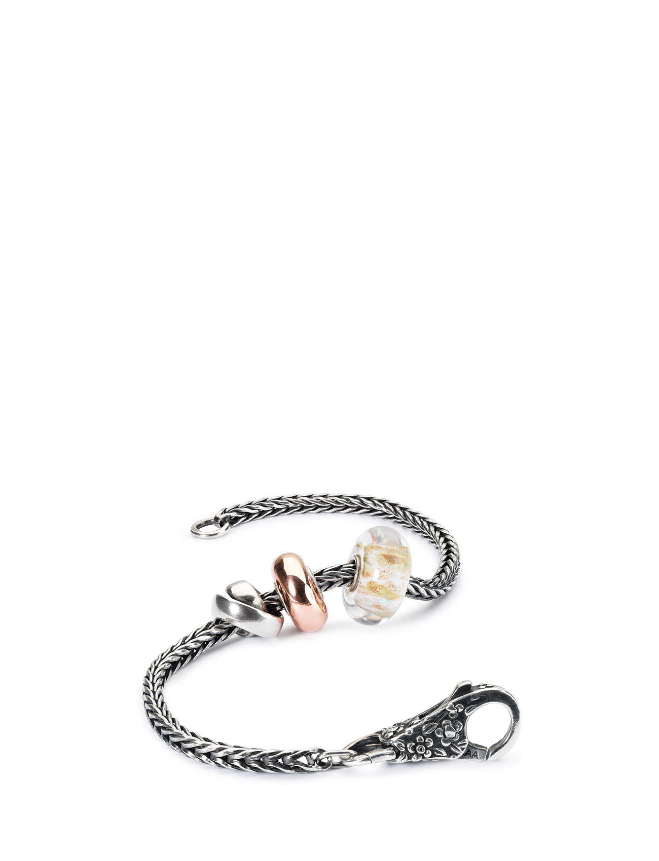Wind Of The World Silver Bracelet Trollbeads Smykker til Damer i Guld