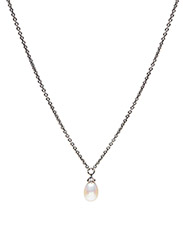 Chain With Pearl - WHITE