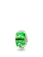 The Diamond Bead - EMERALD GREEN