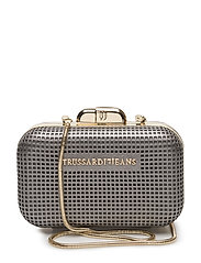 RED CARPET ECOLEATHER NET MINIAUDIERE