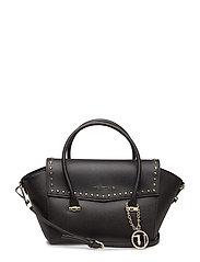 LEVANTO BORCHIE - Flap Bag - BLACK