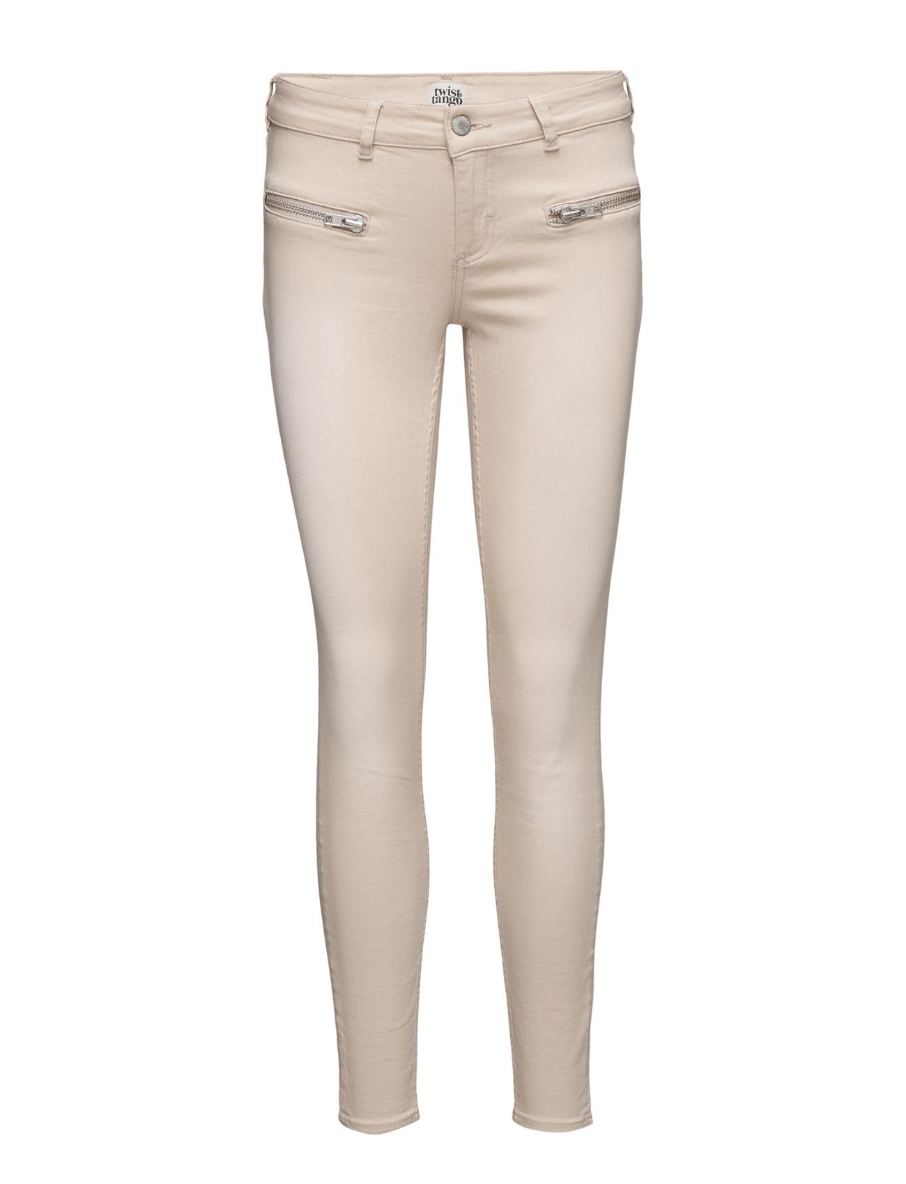 Sid Ankle Jeans Twist & Tango Skinny til Damer i SAND