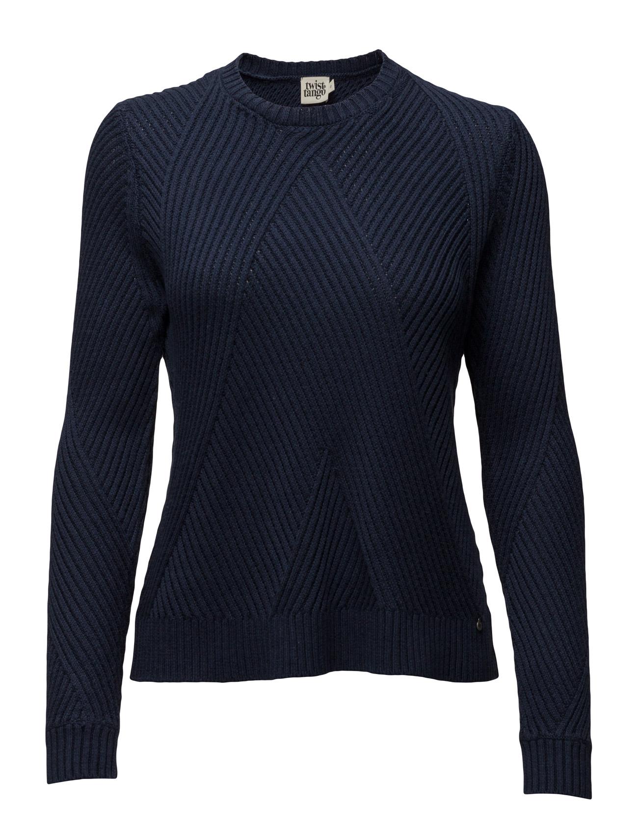 Sadieweater Dark Blue Twist & Tango Sweatshirts til Damer i Mørkeblå
