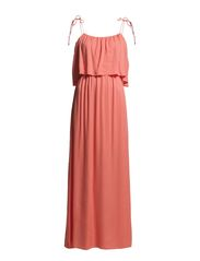 Allie Long Dress - Coral