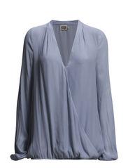 Safia Blouse - Soft blue