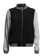 Karin Jacket - White / Black