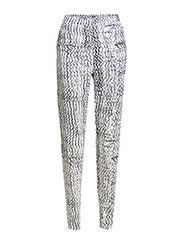 Eily Trousers - White/black