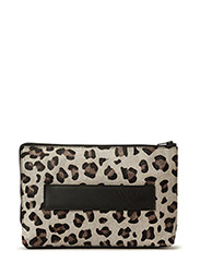 Leighton Bag Leopard - LEOPARD GREY
