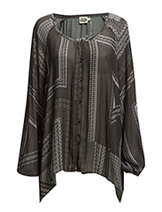 Miley Blouse - SILVERLILAC GRAPHIC PRINT