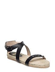 Valencia Sandals - BLACK
