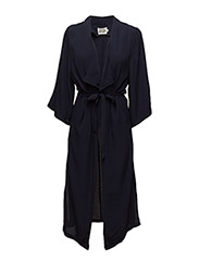 Lora Coat - DEEP NAVY