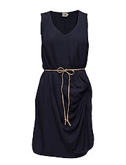 Daisy Dress - DEEP NAVY