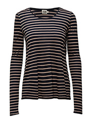Iris Top - NAVY STRIPE