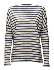 Sandra Sweater - DARK BLUE STRIPE