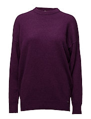 Jenna Sweater - PURPLE L