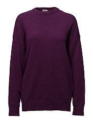 Jenna Sweater - PURPLE M