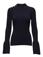 Lizzie Funnel Neck - NAVY