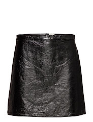 Lydia Skirt - SHINY BLACK