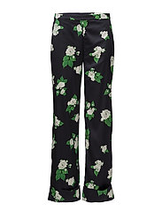Dahlia Trousers - NAVY ROSE