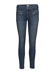 Sid Ankle Jeans - DARK BLUE DENIM