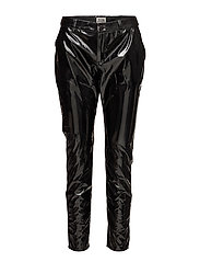 Poppy Trousers - SHINY BLACK