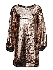 Darcy Dress - DRESS BRONZE