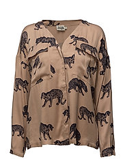 Savannah Blouse - CHEETA PRINT