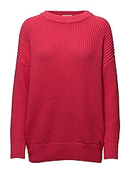Magnolia Sweater - CERISE