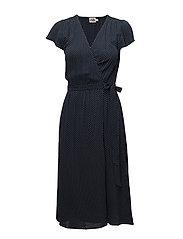 Tea Dress - SMALL WHITE DOT
