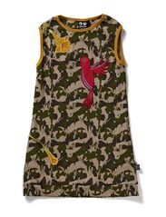 Horse Dress - Jungle print