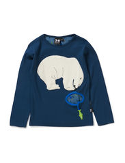 Bear Tee long sleeve - Dark Blue