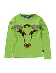 Bull Tee long sleeve - Jasmine Green
