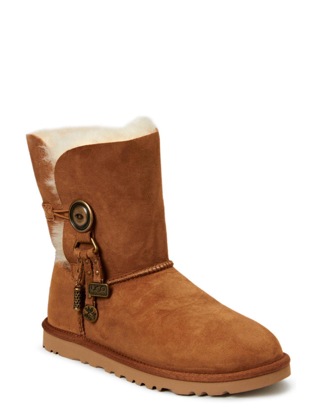 W Azalea UGG Støvler til Damer i kastanje