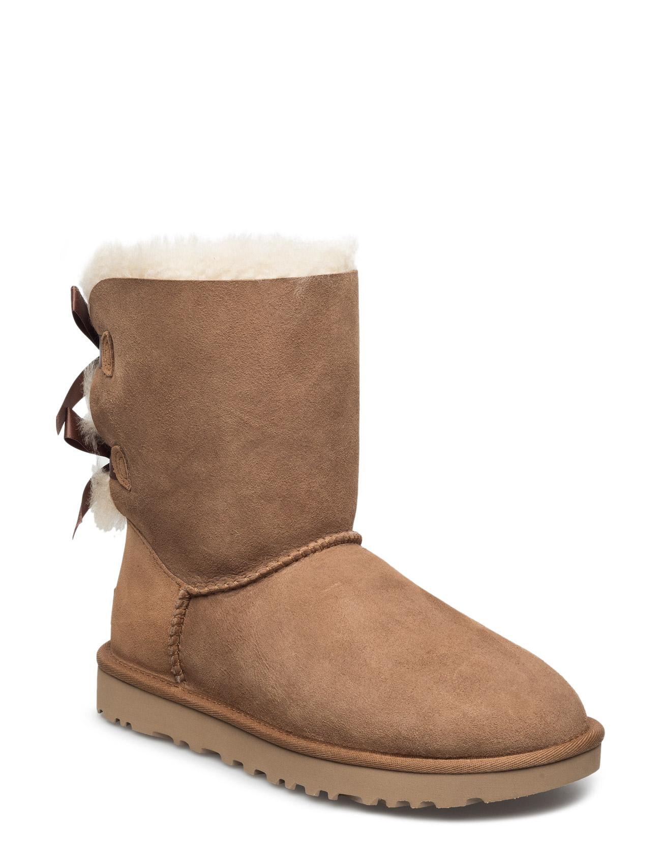 W Bailey Bow Ii UGG Støvler til Damer i kastanje