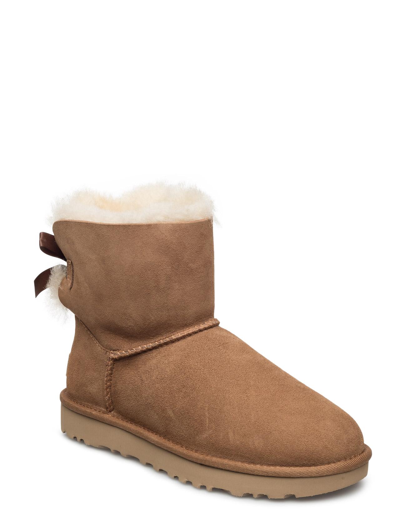 W Mini Bailey Bow Ii UGG Støvler til Damer i kastanje