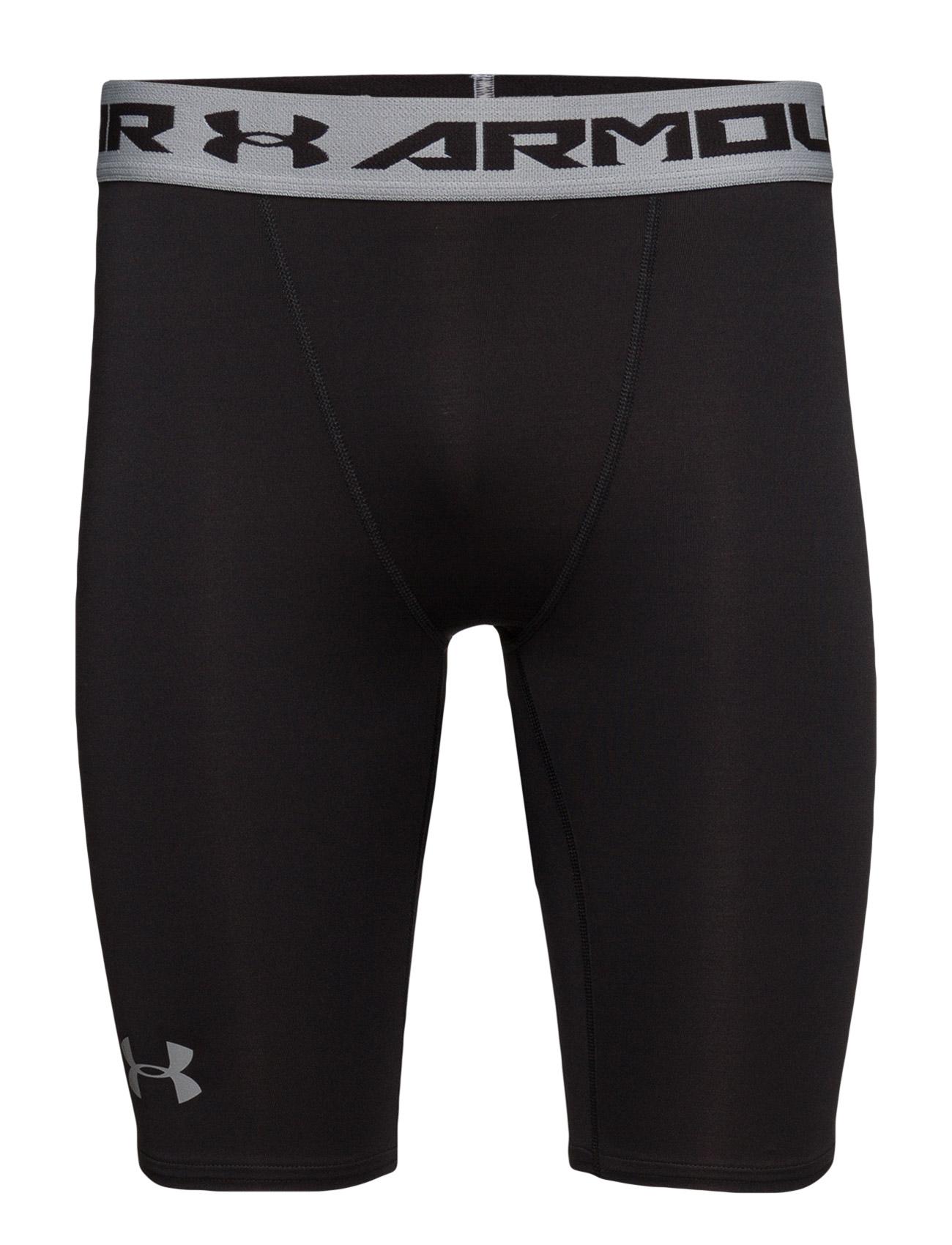 Armour Hg Long Comp Short Under Armour Sportstøj til Mænd i Sort