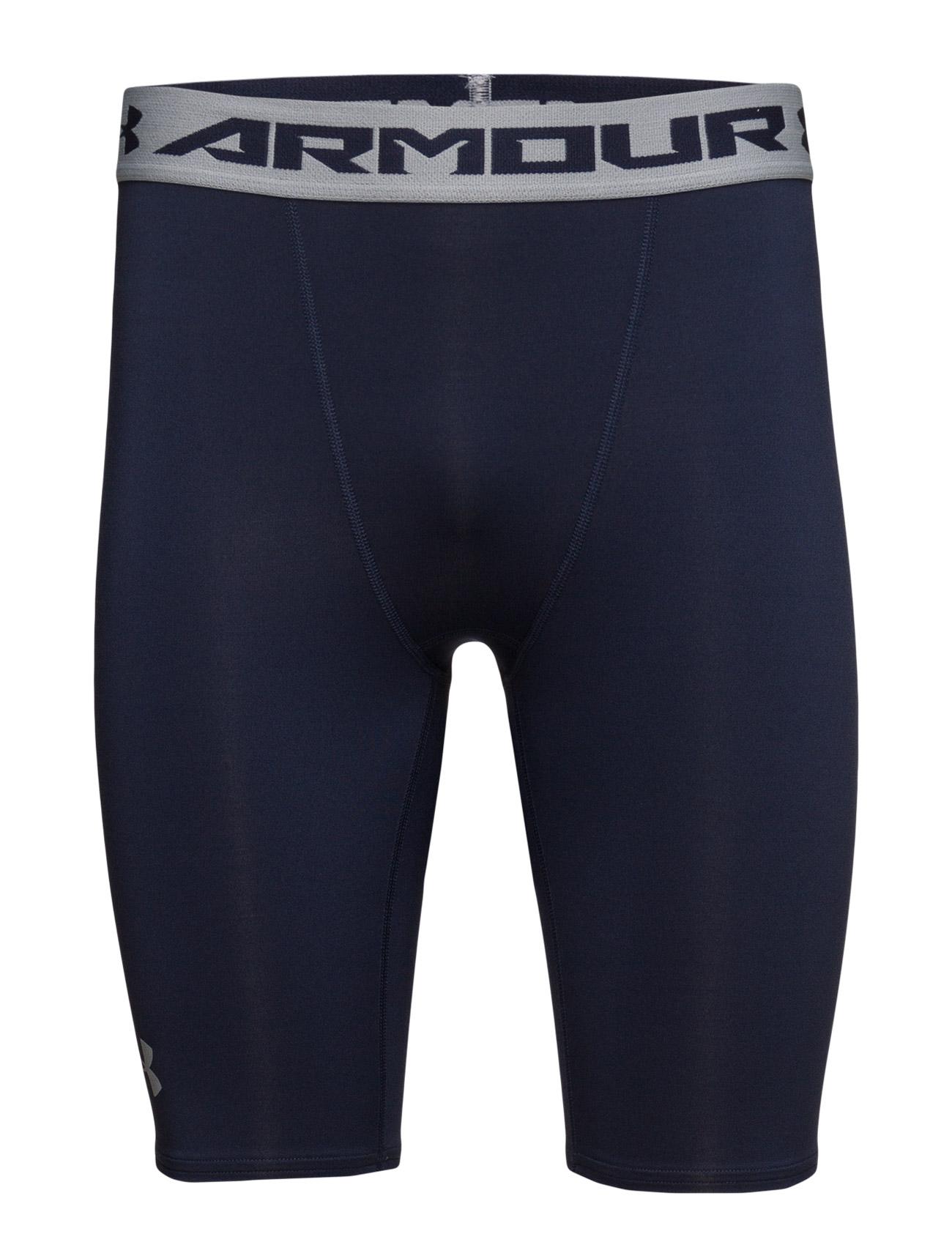 Armour Hg Long Comp Short Under Armour Træningsshorts til Mænd i hvid