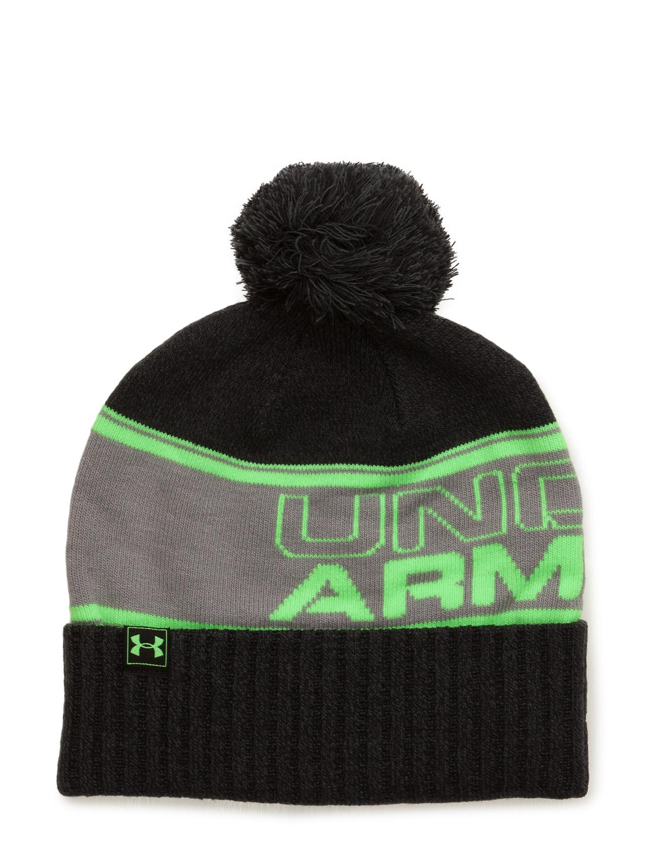 Men'S Ua Pom Beanie Under Armour Sports accessories til Mænd i Rød