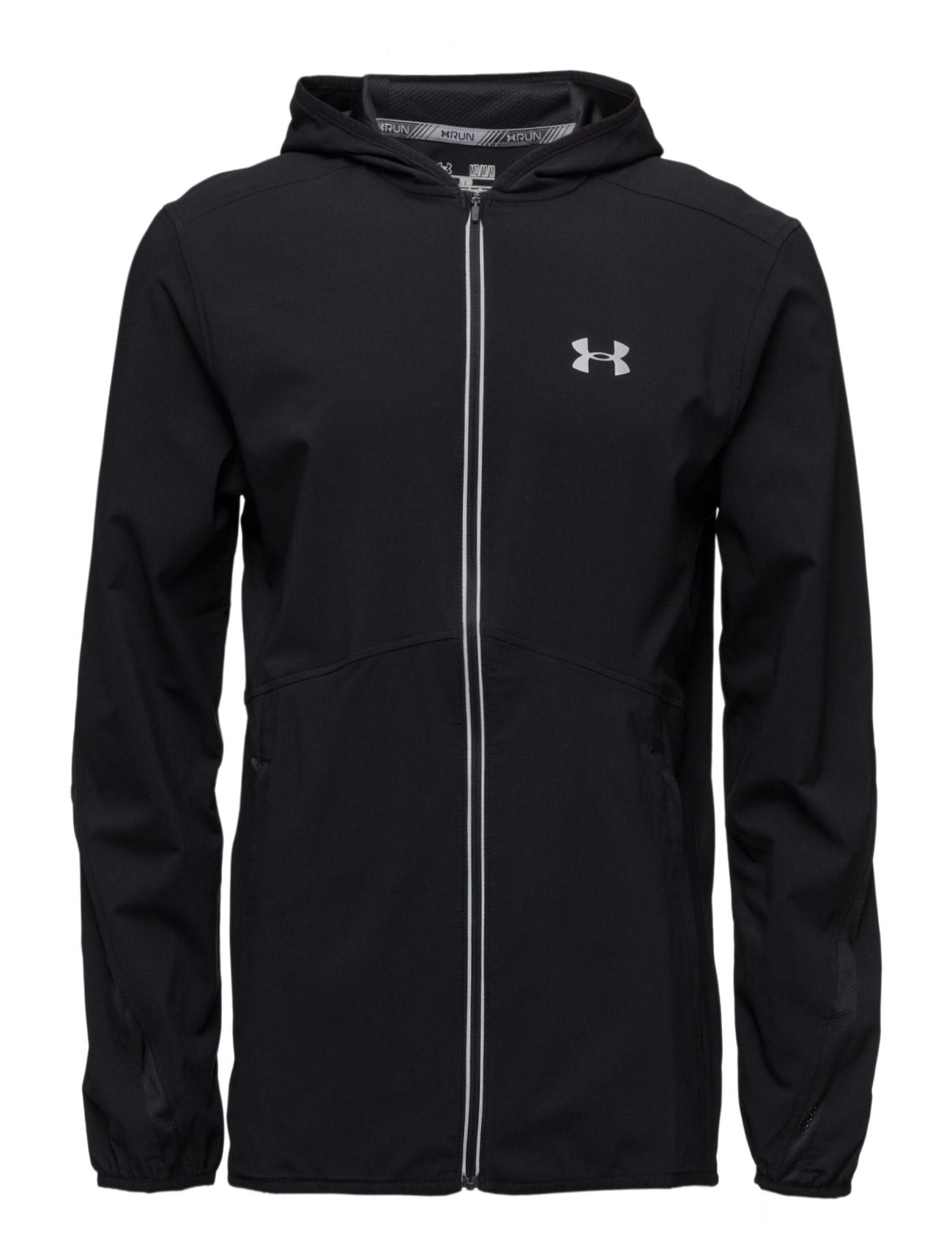 Run True Sw Jacket Under Armour Sports toppe til Herrer i Sort