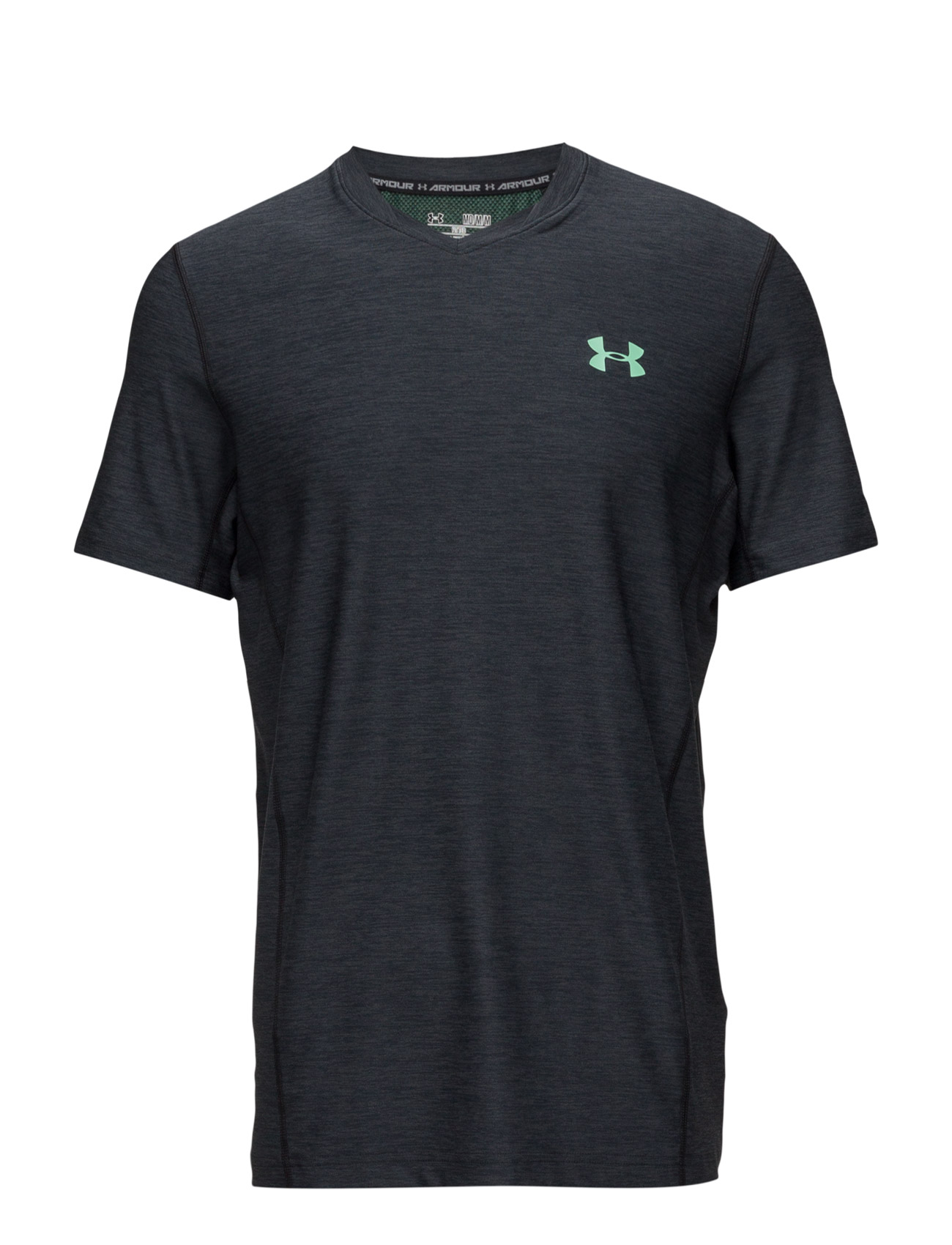 Supervent Fitted Ss Under Armour Løbe t-shirts til Herrer i Sort