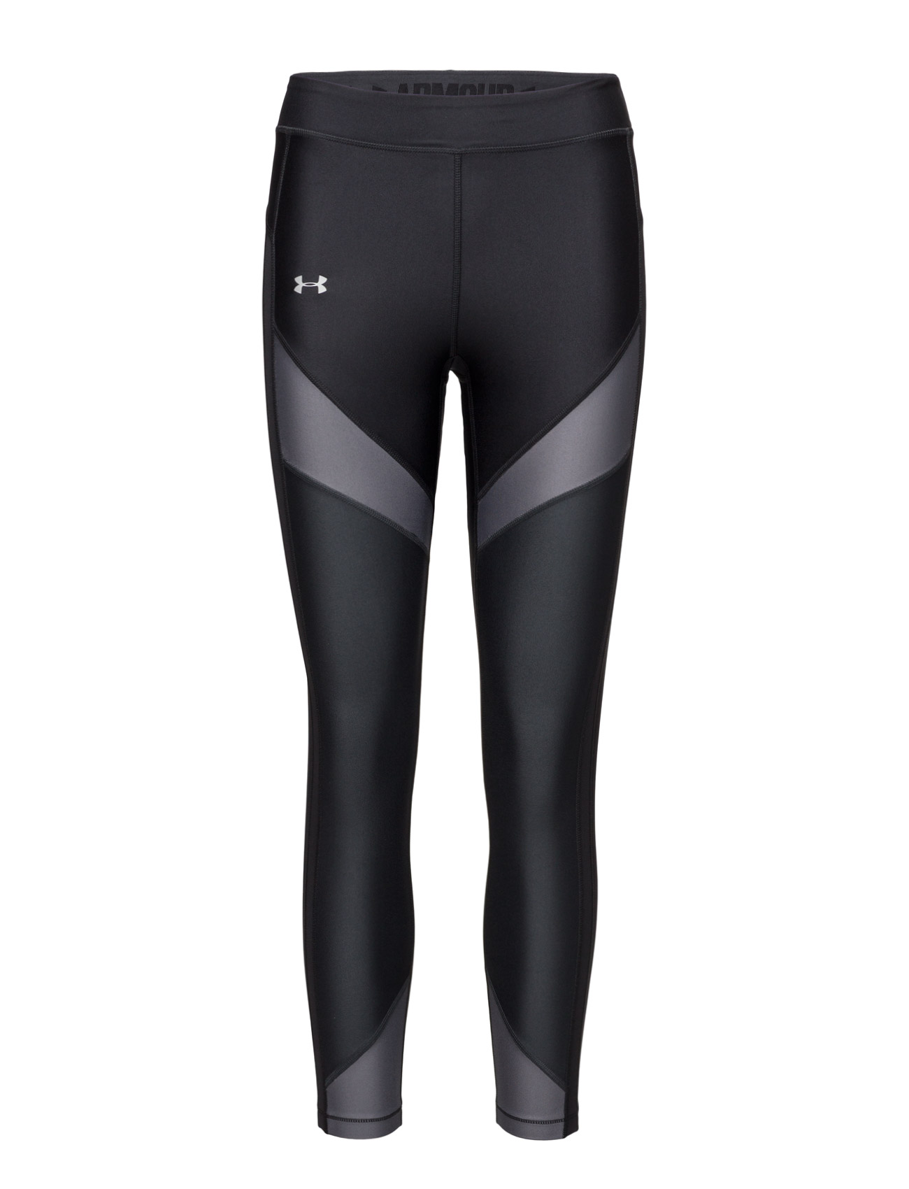 Ua Hg Color Blckd Ankle Crop Under Armour Sportstøj til Kvinder i Sort